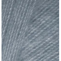Пряжа для вязания Alize Angora Real 40 (Ализе Ангора Реал 40) Цвет 87 средне серый