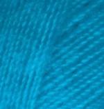 Пряжа для вязания Alize Angora Real 40 (Ализе Ангора Реал 40) Цвет 16 бирюза