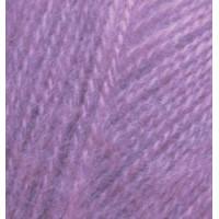 Пряжа для вязания Alize Angora Real 40 (Ализе Ангора Реал 40) Цвет 47 сирень
