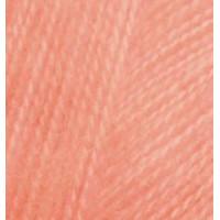 Пряжа для вязания Alize Angora Real 40 (Ализе Ангора Реал 40) Цвет 34 светлый персик
