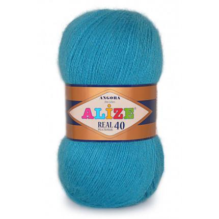 Пряжа для вязания Alize Angora Real 40 (Ализе Ангора Реал 40)