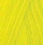 Alize Angora Real 40 Цвет 552 желтый неон