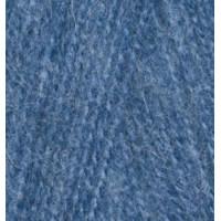 Пряжа для вязания Alize Angora Real 40 (Ализе Ангора Реал 40) Цвет 411 джинсовый