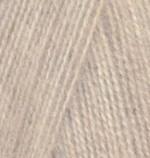 Пряжа для вязания Alize Angora Real 40 (Ализе Ангора Реал 40) Цвет 152 бежевый