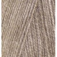 Пряжа для вязания Alize Angora Real 40 (Ализе Ангора Реал 40) Цвет 553 коричн.меланж