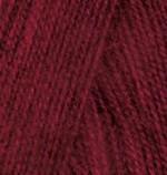 Alize Angora Real 40 Цвет 57 бордовый
