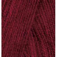 Пряжа для вязания Alize Angora Real 40 (Ализе Ангора Реал 40) Цвет 57 бордовый