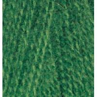 Пряжа для вязания Alize Angora Real 40 (Ализе Ангора Реал 40) Цвет 563 тем.зеленый