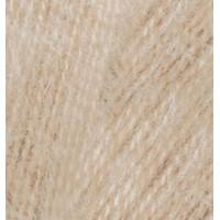Пряжа для вязания Alize Angora Real 40 (Ализе Ангора Реал 40) Цвет 05 бежевый