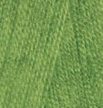 Alize Angora Real 40 Цвет 210 зеленый