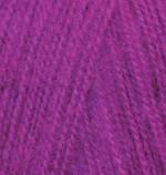 Alize Angora Real 40 Цвет 230 темная фуксия