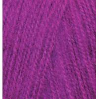 Пряжа для вязания Alize Angora Real 40 (Ализе Ангора Реал 40) Цвет 230 темная фуксия