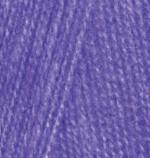 Alize Angora Real 40 Цвет 44 фиолетовый