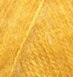 Alize Angora Real 40 Цвет 82 темно желтый