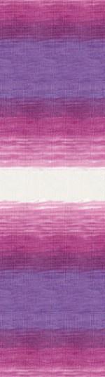 Пряжа для вязания Alize Angora Real 40 Batik (Ализе Ангора Реал 40 Батик) Цвет 3950