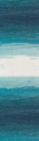 Пряжа для вязания Alize Angora Real 40 Batik (Ализе Ангора Реал 40 Батик) Цвет 1892