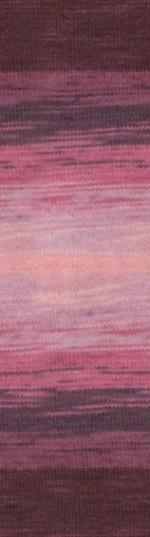 Пряжа для вязания Alize Angora Real 40 Batik (Ализе Ангора Реал 40 Батик) Цвет 1895