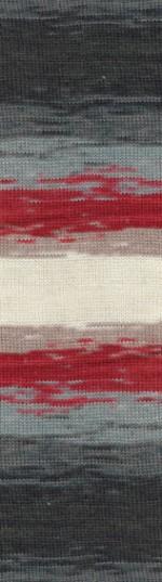 Пряжа для вязания Alize Angora Real 40 Batik (Ализе Ангора Реал 40 Батик) Цвет 3376