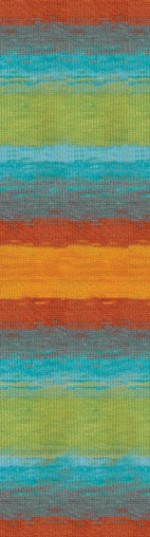 Пряжа для вязания Alize Angora Real 40 Batik (Ализе Ангора Реал 40 Батик) Цвет 4835