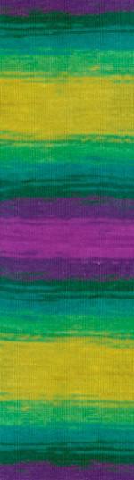 Пряжа для вязания Alize Angora Real 40 Batik (Ализе Ангора Реал 40 Батик) Цвет 4880