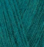 Alize Angora Special Цвет 598 темно зеленый