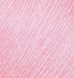 Пряжа Alize Baby Wool (Ализе Беби Вул) Цвет 185 светло розовый