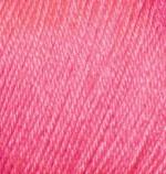 Пряжа Alize Baby Wool (Ализе Беби Вул) Цвет 33 ярко розовый