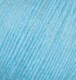 Пряжа Alize Baby Wool (Ализе Беби Вул) Цвет 128 бирюзовый