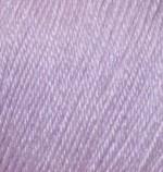 Пряжа Alize Baby Wool (Ализе Беби Вул) Цвет 146 лиловый
