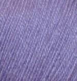 Пряжа Alize Baby Wool (Ализе Беби Вул) Цвет 42 сиреневый