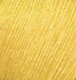 Пряжа Alize Baby Wool (Ализе Беби Вул) Цвет 216 желтый