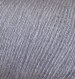 Пряжа Alize Baby Wool (Ализе Беби Вул) Цвет 119 серый