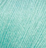 Пряжа Alize Baby Wool (Ализе Беби Вул) Цвет 19 мята