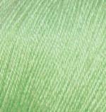 Пряжа Alize Baby Wool (Ализе Беби Вул) Цвет 41 мята