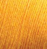 Пряжа Alize Baby Wool (Ализе Беби Вул) Цвет 14 желток