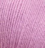 Пряжа Alize Baby Wool (Ализе Беби Вул) Цвет 672 розовый
