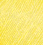 Пряжа Alize Baby Wool (Ализе Беби Вул) Цвет 187 лимонный