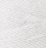 Пряжа для вязания Alize Bamboo Fine (Ализе Бамбу Файн) Цвет 55 белый