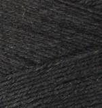 Пряжа для вязания Alize Bamboo Fine (Ализе Бамбу Файн) Цвет 60 черный