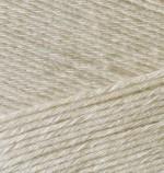 Пряжа для вязания Alize Bamboo Fine (Ализе Бамбу Файн) Цвет 67 светло бежевый