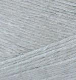 Пряжа для вязания Alize Bamboo Fine (Ализе Бамбу Файн) Цвет 52 серый