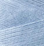 Пряжа для вязания Alize Bamboo Fine (Ализе Бамбу Файн) Цвет 481 светло голубой
