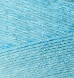 Пряжа для вязания Alize Bamboo Fine (Ализе Бамбу Файн) Цвет 128 светло голубой