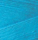Пряжа для вязания Alize Bamboo Fine (Ализе Бамбу Файн) Цвет 484 темная бирюза