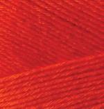 Пряжа для вязания Alize Bamboo Fine (Ализе Бамбу Файн) Цвет 56 красный