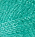 Пряжа для вязания Alize Bamboo Fine (Ализе Бамбу Файн) Цвет 610 изумруд