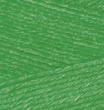 Alize Bamboo Fine Цвет 562 зеленая трава