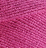 Alize Bella Цвет 489 ярко розовый