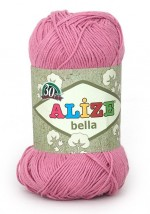 Пряжа для вязания Alize Bella (Ализе Белла) Цвет 198 темно розовый