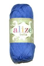 Пряжа для вязания Alize Bella (Ализе Белла) Цвет 333 ярко синий
